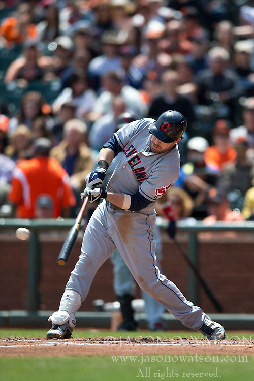 SAN FRANCISCO, CA - APRIL 26:  Jason Kipnis #22 of the Cleveland Indians at bat against the San Francisco Giants during the third inning at AT&T Park on April 26, 2014 in San Francisco, California. The San Francisco Giants defeated the Cleveland Indians 5-3.  (Photo by Jason O. Watson/Getty Images) *** Local Caption *** Jason Kipnis