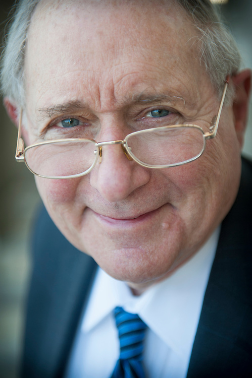 Portrait of US Senator Carl Levin, Washington DC Capital Hill.
