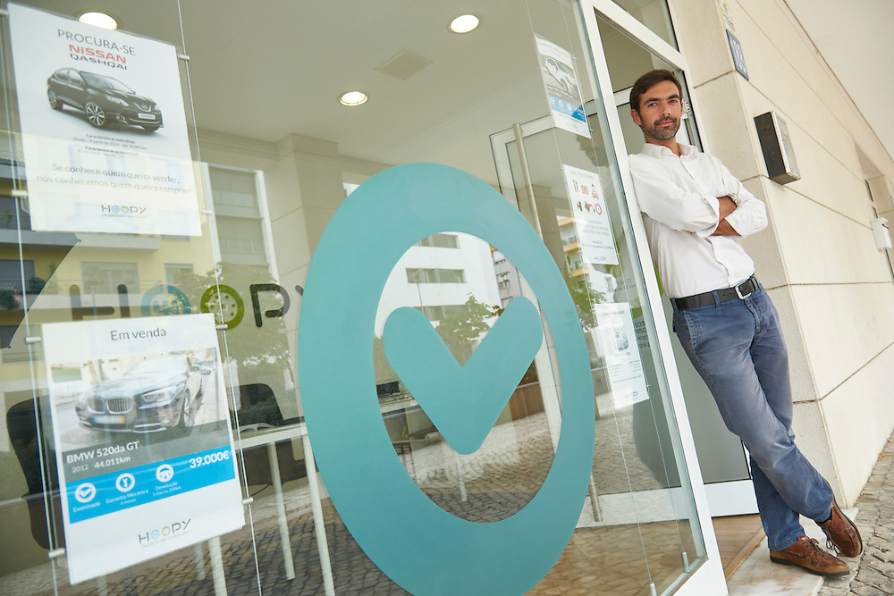 Lisboa, 17/08/2016 - Ricardo Neves Silva da Hoopy, uma empresa que funciona como uma plataforma de media&ccedil;&atilde;o na compra e venda de autom&oacute;veis entre particulares.<br /> (Paulo Alexandrino / Global Imagens)