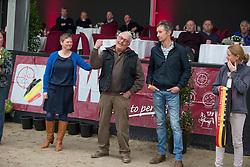Vermeiren Gert, Gosselin Jan, <br /> Fokkers hengsten kampioenen keuring<br /> 3de phase BWP Keuring - Stal Hulsterlo - Meerdonk 2016<br /> © Hippo Foto - Dirk Caremans<br /> 17/03/16