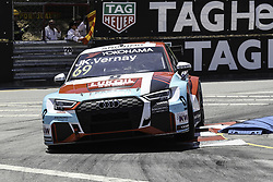 June 23, 2018 - Vila Real, Vila Real, Portugal - Jean-Karl Vernay from France in Audi RS 3 LMS of Audi Sport Leopard Lukoil Team in action during the Race 1 of FIA WTCR 2018 World Touring Car Cup Race of Portugal, Vila Real, June 23, 2018. (Credit Image: © Dpi/NurPhoto via ZUMA Press)