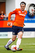 Matt Robinson of Luton Town during the Sky Bet League 2 match at Kenilworth Road, Luton<br /> Picture by David Horn/Focus Images Ltd +44 7545 970036<br /> 16/08/2014
