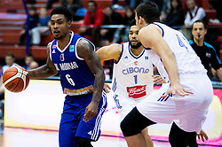 Lamont Jones of KK Mornar during basketball match between KK Cibona Zagreb (CRO) and KK Mornar (MNE) in Round #4 of FIBA Champions League 2016/17, on November 9, 2016 in Drazen Petrovic Basketball center, Zagreb, Croatia. Photo by Vid Ponikvar / Sportida