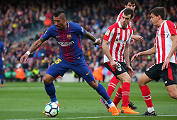 March 18, 2018 - Barcelona, Spain - Paulinho Bezerra during the match between FC Barcelona and Athletic Club, played at the Camp Nou Stadium on 18th March 2018 in Barcelona, Spain. (Credit Image: © Joan Valls/NurPhoto via ZUMA Press)