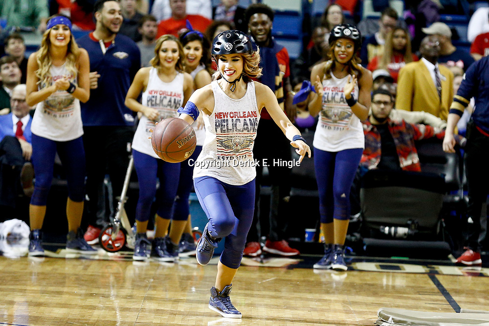 Dec 15, 2016; New Orleans, LA, USA; XXXX during the second quarter of a game at the Smoothie King Center. Mandatory Credit: Derick E. Hingle-USA TODAY Sports