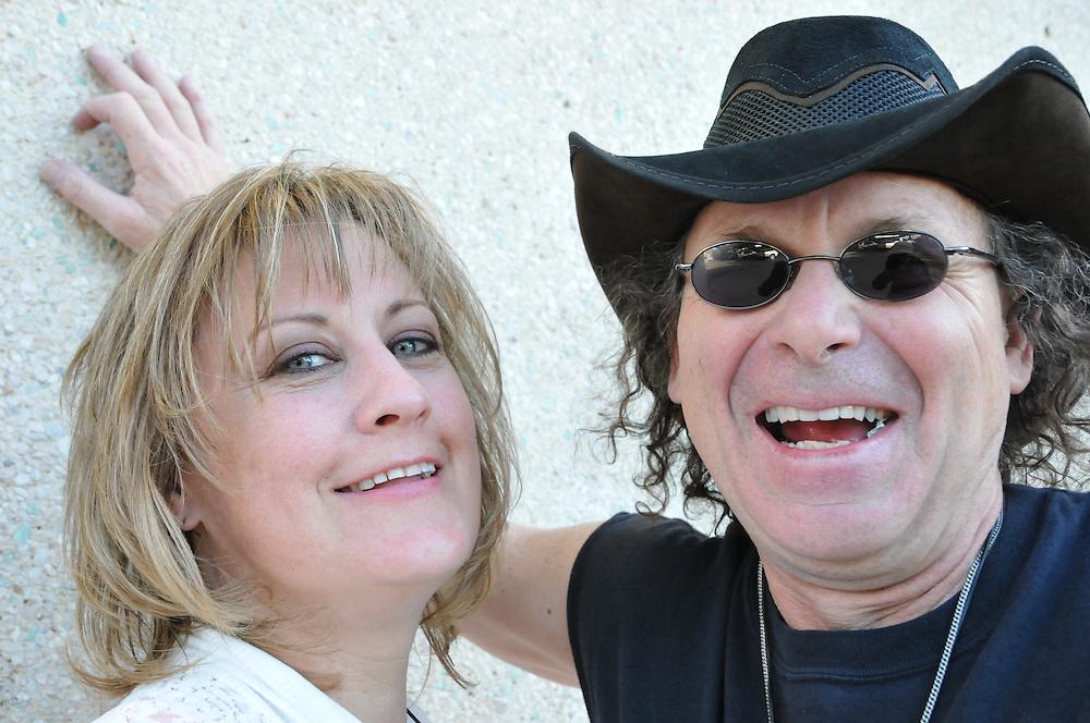 JC & Laney after their Tucson Folk Festival concert. Event photography by Martha Retallick.
