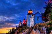Bass Harbor Lighthouse, Acadia, Maine, USA
