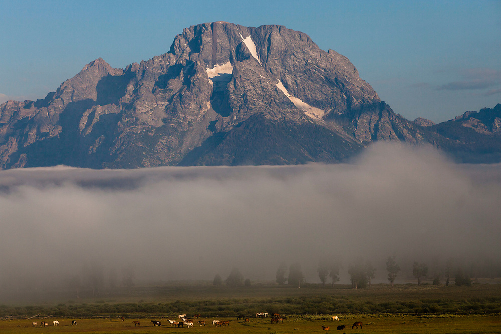 Mount Moran, Grand Teton National Park, Wyoming, United States
