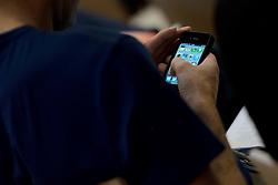 17-05-2014 NED: Nationaal Volleybalcongres, Amersfoort<br /> Met het thema Goud in handen zal het congres het platform voor kansdeling en uitwisseling zijn voor bestuurders / mobile, tweet, media