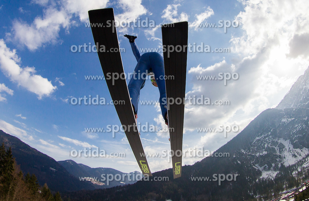 MALSINER Manuela of Italy during Ladies Large Hill Individual Competition at 3rd day of FIS Ski Jumping World Cup Finals Planica 2014, on March 22, 2014 in Planica, Slovenia. Photo by Vid Ponikvar / Sportida