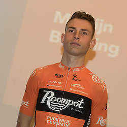 05-01-2018: Wielrennen: Presentatie Team Roompot: Rotterdam <br />Martijn Budding