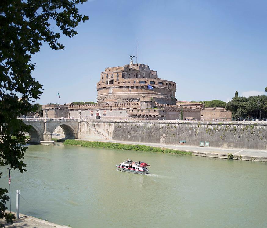 Castel Sant'angelo, Mausoleo di Adriano, tevere Roma