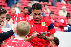 Zak Vyner of Bristol City signs autographs for fans - Mandatory by-line: Dougie Allward/JMP - 19/08/2017 - FOOTBALL - Ashton Gate Stadium - Bristol, England - Bristol City v Millwall - Sky Bet Championship