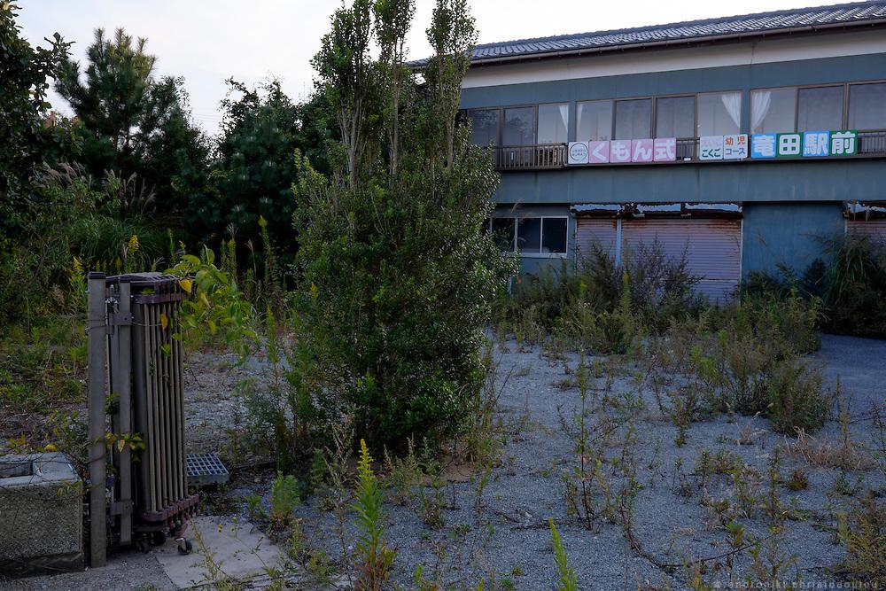Abandoned cram school