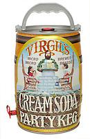 virgil's cream soda party keg