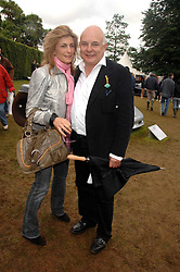 Designer ROLF SACHS and his wife MARYAM at the Cartier Style Et Luxe at the Goodwood Festival of Speed, Goodwood House, West Sussex on 24th June 2007.<br /><br />NON EXCLUSIVE - WORLD RIGHTS