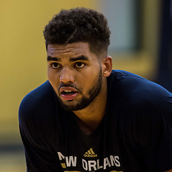Sanjay Lumpkin during New Orleans Pelicans summer league practice in Metairie, La. Tuesday, July 4, 2017.