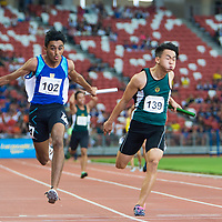 A Div Boys 4x100m