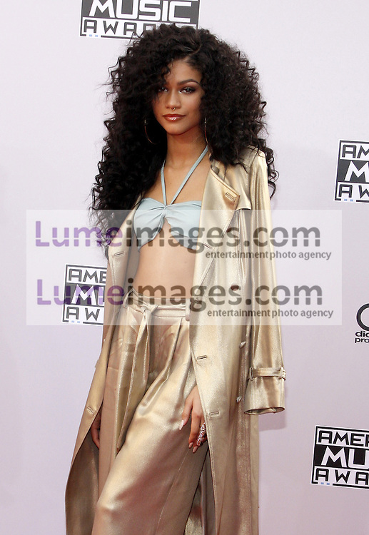 Zendaya at the 2014 American Music Awards held at the Nokia Theatre L.A. Live in Los Angeles on November 23, 2014 in Los Angeles, California. Credit: Lumeimages.com