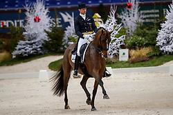 Kittel Patrik, SWE, Well Done de la Roche CMF<br /> Grand Prix presented by Jiva Hill Stables<br /> CHI de Genève 2017<br /> © Hippo Foto - Dirk Caremans<br /> 08/12/2017