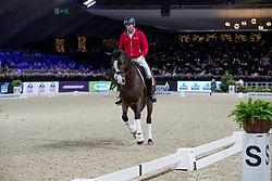 Eynde Bart, BEL, Olympic Aroma Krack<br /> Jumping Mechelen 2019<br /> © Hippo Foto - Sharon Vandeput<br /> 29/12/19