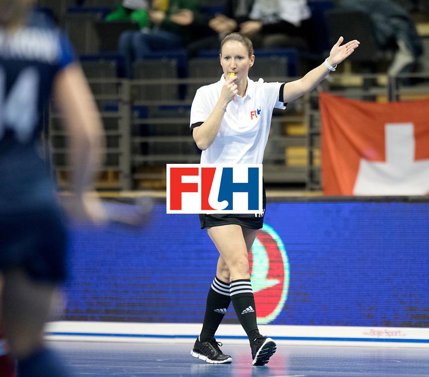 BERLIN - Indoor Hockey World Cup<br /> Women: Russia - Czech Republic<br /> foto: WILLIAMS Rachel.<br /> WORLDSPORTPICS COPYRIGHT FRANK UIJLENBROEK