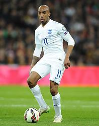 Fabian Delph of England (Aston Villa)  - Photo mandatory by-line: Joe Meredith/JMP - Mobile: 07966 386802 - 27/03/2015 - SPORT - Football - London - Wembley Stadium - England v Lithuania - UEFA EURO 2016 Qualifier