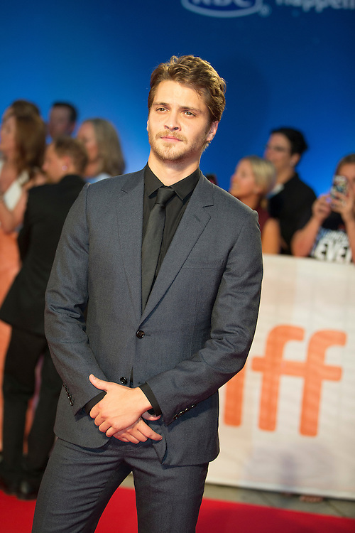 Luke Grimes poses for photographers at the premiere of the Magnificent 7 at the Toronto International Film Festival in Toronto, Ontario, September 8, 2016.