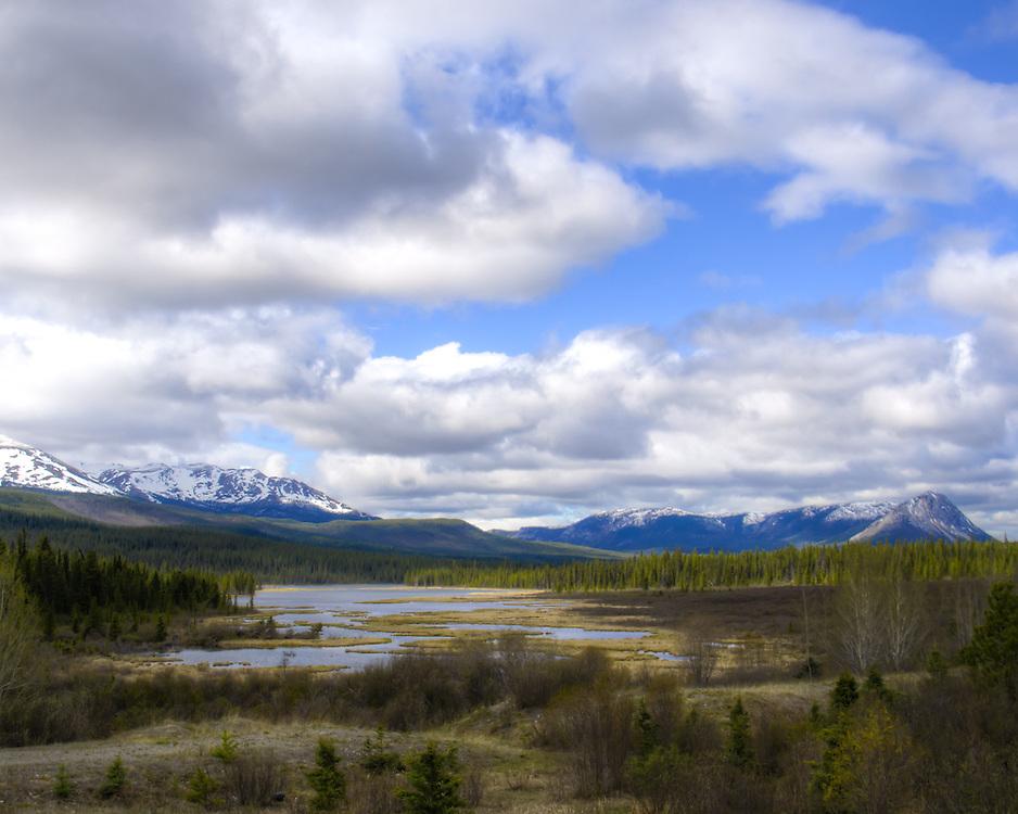 Yukon Territory, Canada.Kilometer Mark 1322