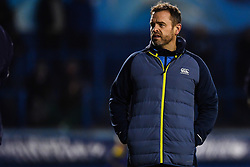 Danny Wilson head coach of the Cardiff Blues during the pre match warm up - Mandatory by-line: Craig Thomas/JMP - 14/01/2018 - RUGBY - BT Sport Cardiff Arms Park - Cardiff, Wales - Cardiff Blues v Toulouse - European Rugby Challenge Cup