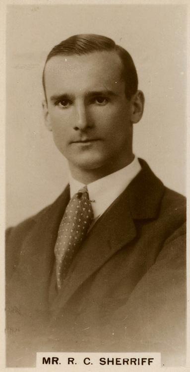 Robert Cedric Sherriff (1896-1975) British dramatist and novelist.