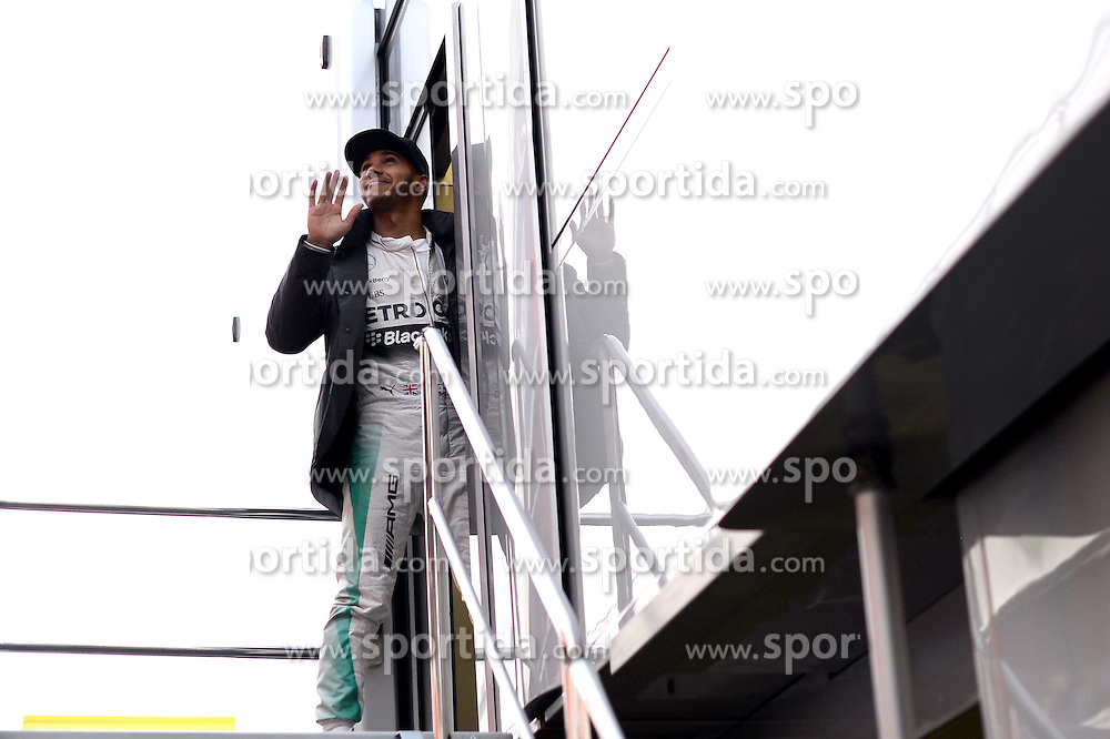 28.02.2015, Circuit de Catalunya, Barcelona, ESP, FIA, Formel 1, Testfahrten, Barcelona, Tag 3, im Bild Lewis Hamilton (GBR) Mercedes AMG F1 // during the Formula One Testdrives, day three at the Circuit de Catalunya in Barcelona, Spain on 2015/02/28. EXPA Pictures &copy; 2015, PhotoCredit: EXPA/ Sutton Images/ Patrik Lundin Images<br /> <br /> *****ATTENTION - for AUT, SLO, CRO, SRB, BIH, MAZ only*****