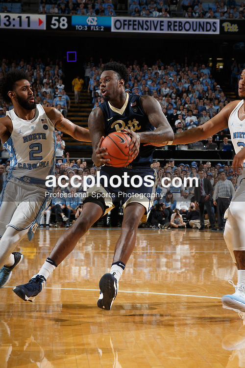 CHAPEL HILL, NC - JANUARY 31: Jamel Artis #1 of the Pittsburgh Panthers plays against the North Carolina Tar Heels on January 31, 2017 at the Dean Smith Center in Chapel Hill, North Carolina. North Carolina won 80-78. (Photo by Peyton Williams/UNC/Getty Images) *** Local Caption *** Jamel Artis