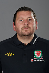 NEWPORT, WALES - Tuesday, August 30, 2011: Wales' equipment manager David Griffiths. (Pic by David Rawcliffe/Propaganda)