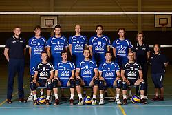 21-10-2013 VOLLEYBAL: TEAMPRESENTATIE SSS: BARNEVELD <br /> Team SSS seizoen 2013-2014<br /> ©2013-FotoHoogendoorn.nl