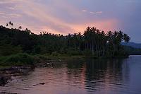 Sunrise near Foli Village, Halmahera.