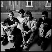 Blur, 'Rockin On' cover session, London, UK, 1990s.