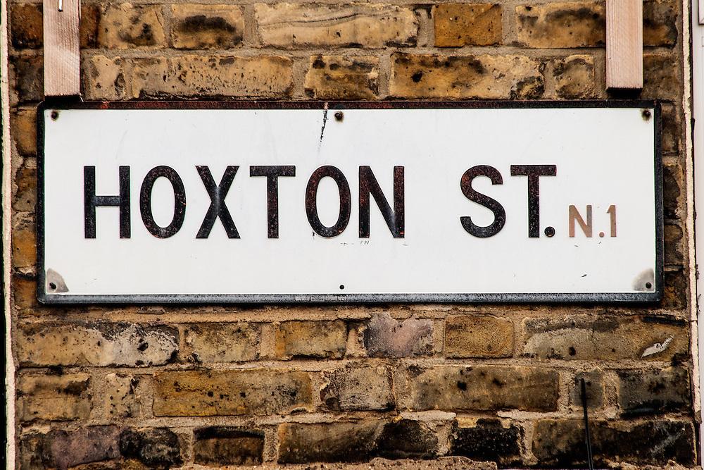 Hoxton Street Sign