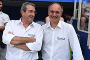 Sandro Senzameno, Consolini<br /> Raduno Nazionale Maschile Senior<br /> Allenamento mattina<br /> Trento, 29/07/2017<br /> Foto Ciamillo-Castoria/ M. Brondi