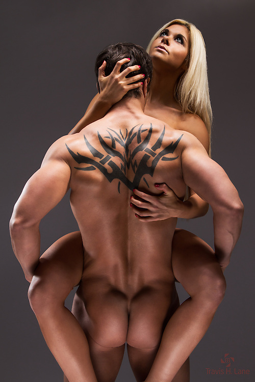 James Luety and Taryn Evans sensual lift
