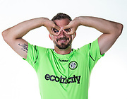 Forest Green Rovers Gavin Gunning during the 2018/19 official team photocall for Forest Green Rovers at the New Lawn, Forest Green, United Kingdom on 30 July 2018. Picture by Shane Healey.
