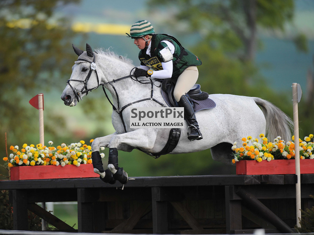 Clare Valender on Bolinda 11, Brigstock International Horse Trials, CIC Section Cross Country,Rockingham Castle Saturday 3rd May 2014