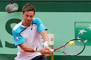 Roland Garros 2011. Paris, France. May 26th 2011..Swedish player Robin SODERLING against Albert RAMOS