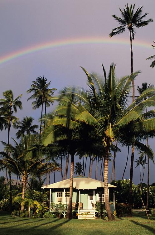 Hawaii, Kauai, Waimea Plantation Cottages, Waimea Town