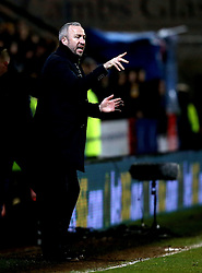 Cambridge United manager Shaun Derry - Mandatory by-line: Robbie Stephenson/JMP - 09/01/2017 - FOOTBALL - Cambs Glass Stadium - Cambridge, England - Cambridge United v Leeds United - FA Cup third round