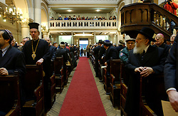 BRUSSELS, BELGIUM - JAN-30-2005 -  A memorial service is held at the Grand Synagogue in Brussels in remembrance of the liberation of the notorious Nazi concentration camp at Auschwitz. (REPORTERS © JOCK FISTICK)..Rabi Lieberman of Antwerp