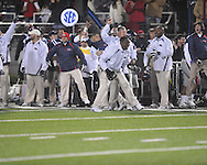 Ole Miss coach Terry Price at Vaught-Hemingway Stadium on Saturday, November 27, 2010. Mississippi State won 31-23.