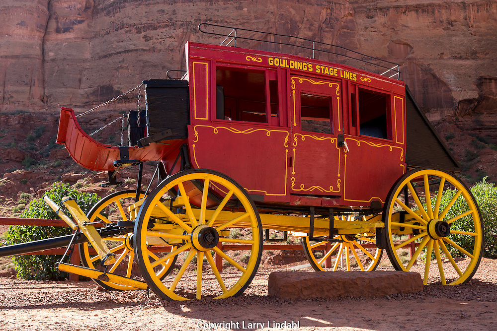 Stagecoach, Goulding's Trading Post, Monument Valley, Arizona