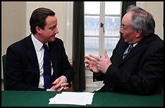 David Cameron With Peter Bone MP