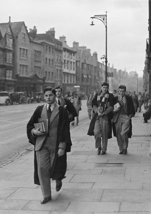 Undergraduates, Oxford, England, 1925